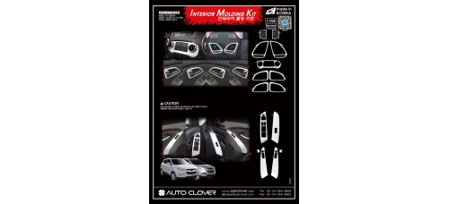 AUTOCLOVER INTERIOR MOLDING KIT SET FOR HYUNDAI TUCSON IX35 2009-15 MNR