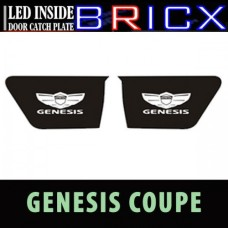 BRICX HYUNDAI GENESIS  VELOSTER LED INSIDE DOOR CATCH PLATES SET