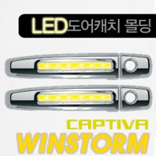 KYUNG DONG LED DOOR CATCH MOLDING FOR CHEVROLET CAPTIVA 2008-15 MNR