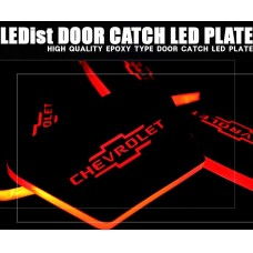 LEDIST CHEVROLET  - LED INSIDE DOOR CATCH PLATES