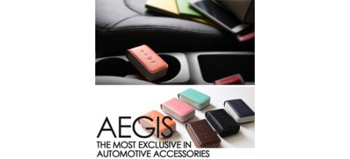AEGIS HYUNDAI I40 - SMART POP SMART KEY LEATHER KEY HOLDER (4 BUTTONS)