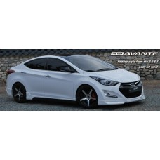 ZEST- AERO PARTS FULL BODY KIT FOR HYUNDAI AVANTE MD / ELANTRA 2013-15 MNR