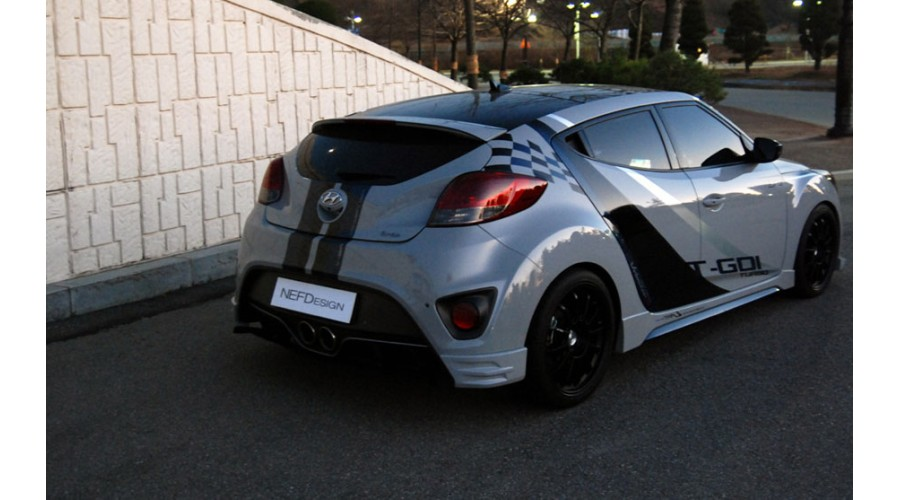Nefdesign Hyundai Veloster Turbo H46t Body Kit For 2012