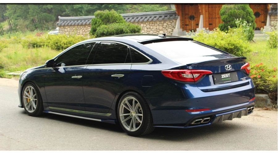 Zest Aero Parts Full Body Kit For Hyundai Sonata Lf 2015