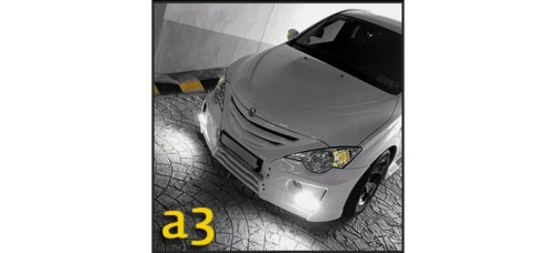 JSW A3 AEROPARTS – FRONT KIT FOR SSANGYONG ACTYON 2007-10 MNR