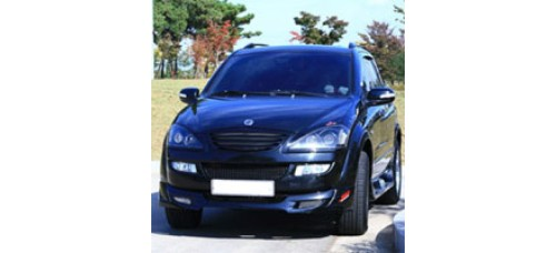 JSW SSANGYONG NEW KYRON - KY-1 FRONT LIP AEROPARTS BODY KIT