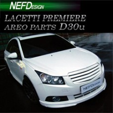 NEFDESIGN D30U LIP AERO PARTS BODY KIT FOR GM-DAEWOO LACETTI PREMIERE 2009-11 MNR