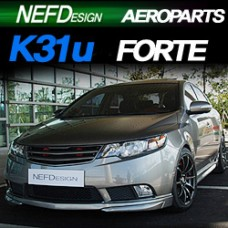 NEFDESIGN K31U BODY KIT AEROPARTS SET FOR KIA FORTE / CERATO 2008-13 MNR