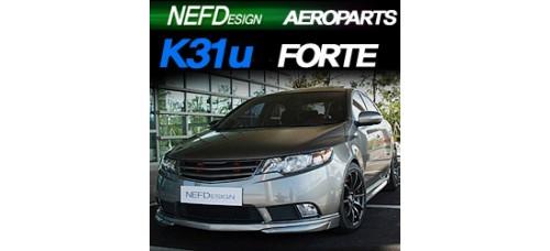 NEFDESIGN K31U BODY KIT AEROPARTS SET FOR KIA FORTE / CERATO 2008-13 MNR