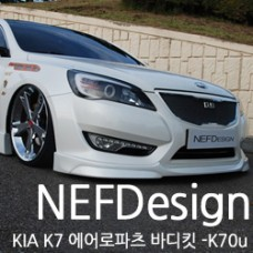 NEFDESIGN K90U BODY KIT AEROPARTS FOR KIA K7 / CADENZA 2010-12 MNR