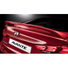 TUIX WING-TYPE REAR SPOILER FOR HYUNDAI ALL-NEW AVANTE AD / ELANTRA 2015-17 MNR