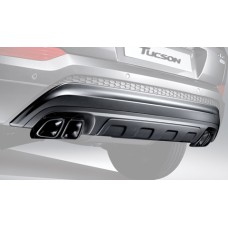 TUIX DUAL MUFFLERS PACKAGE FOR HYUNDAI ALL-NEW TUCSON 2015-17 MNR