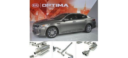 A.JUN 1.7 DIESEL TUNING DUAL MUFFLER KIT FOR KIA K5 / OPTIMA 2013-17 MNR