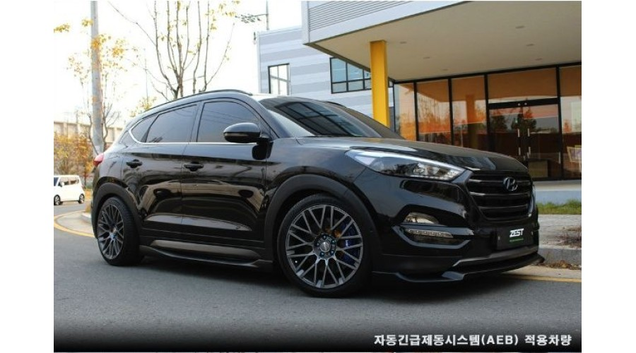 Zest Aero Parts Full Body Kit For Hyundai All New Tucson
