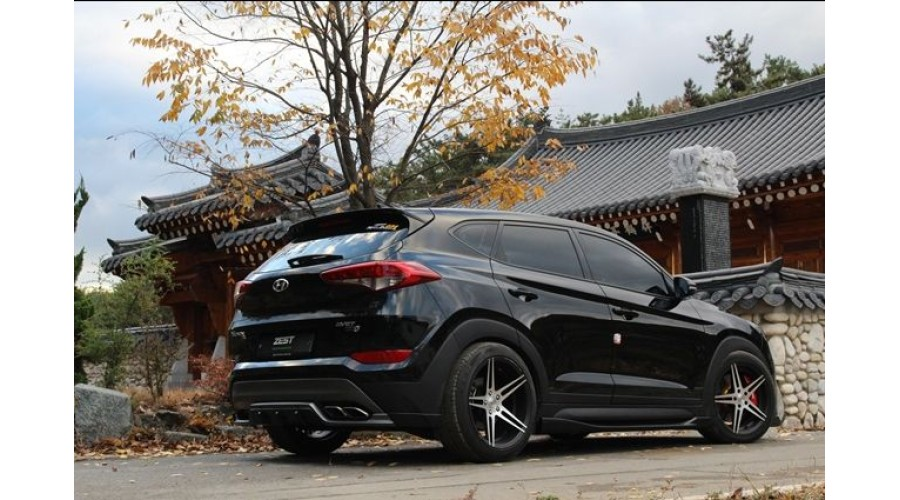 ZEST- AERO PARTS FULL BODY KIT FOR HYUNDAI ALL-NEW TUCSON ...