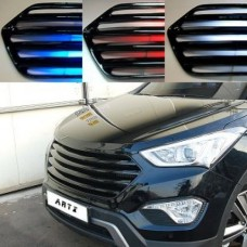 ARTX - LED LUXURY GENERATION TUNING GRILLE (BODY COLOR/CARBON BLACK) FOR HYUNDAI MAXCRUZ 2012-15 MNR