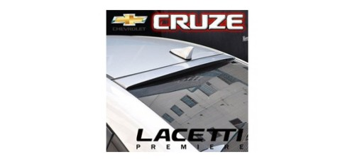 ARTX  - GLASS WING ROOF SPOILER FOR CHEVROLET CRUZE (LACETTI PREMIERE) 2009-13 MNR