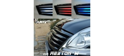 ARTX  - LED LUXURY GENERATION TUNING GRILLE FOR SSANGYONG REXTON W 2012-14 MNR