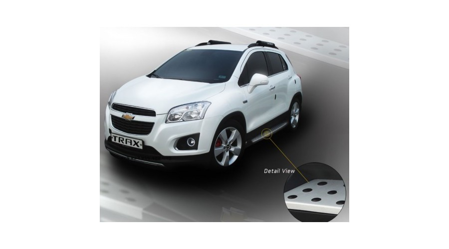 Chevrolet X5 Style Side Running Boards Steps For Chevrolet Trax 2013