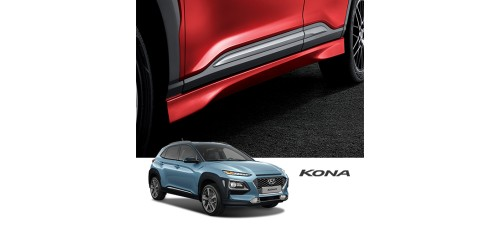 TUIX SIDE SKIRTS SET FOR HYUNDAI KONA 2017-19 MNR