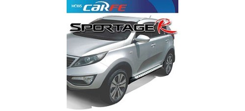 MOBIS - GSC SIDE RUNNING BOARD STEPS SET FOR KIA SPORTAGE R 2010-13 MNR