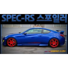 SEQUENCE SPEC-RS REAR SPOILER FOR HYNDAI NEW GENESIS COUPE 2011-16 MNR