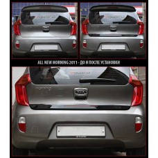 ONZIGOO REAR DOOR MIDDLE SPOILER KIT SET-ASSY FOR KIA MORNING 2010-15 MNR