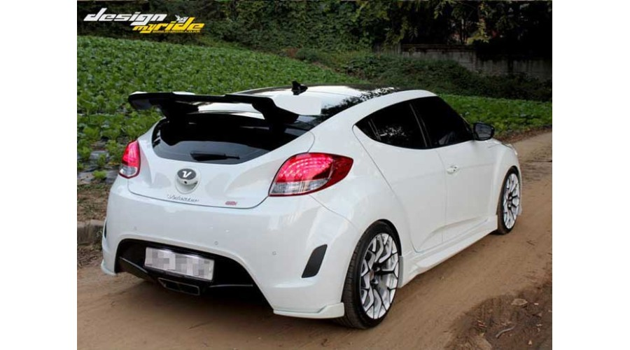 Kia Soul Accessories >> MYRIDE GT-WING REAR ROOF SPOILER FOR HYUNDAI VELOSTER 2011-15 MNR- at discount rate - 00644 11-15