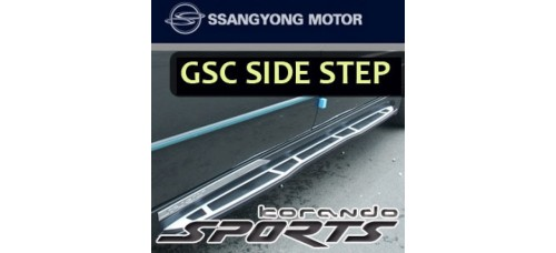 GSC SIDE RUNNING BOARD STEPS FOR SSANGYONG KORANDO / ACTYON SPORTS 2012-14 MNR