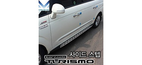 SEYOUNG SIDE STEPS RUNNING BOAD FOR SSANGYONG TURISMO 2012-19 MNR