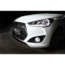 M&S FRONT RADIATOR GRILLE FOR HYNDAI VELOSTER TURBO 2012-17 MNR