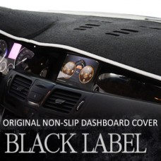 BLACK LABEL PREMIUM NON-SLIP CARPET DASHBOARD COVER FOR SSANGYONG NEW KORANDO C 2014-2015 MNR