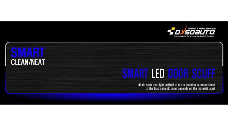 Dxsoauto Hyundai New Tucson Ix Smart Led Door Sill Scuff