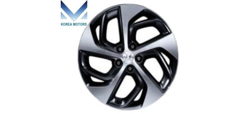 MOBIS WHEEL ASSY ALUMINIUM R19 FOR ALL NEW TUCSON TL 2015-17 MNR