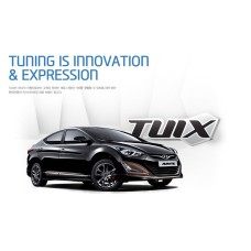 TUIX HYUNDAI DARK GRAY ALLOY WHEELS FOR HYUNDAI ELANTRA 2010-15 MNR