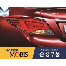 MOBIS NEW TAIL COMBINATION LAMP SET FOR HYUNDAI ACCENT / SOLARIS 2014-20 MNR