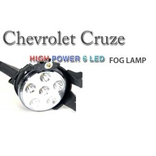 AUTO LAMP HIGH POWER 6LED FOG LAMPS SET (WHITE) FOR CHEVROLET CRUZE 2011-13 MNR