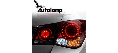 AUTO LAMP - INFINITI STYLE LED TAILLIGHTS SET FOR CHEVROLET CRUZE 2011-13 MNR