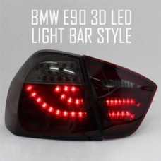AUTO LAMP 3D LED LIGHT BAR TAILLIGHTS SET BMW E90 2005-08 MNR