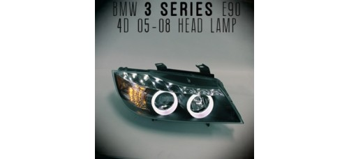 AUTO LAMP LED PROJECTOR HEADLIGHTS FOR BMW E90 2005-08 MNR