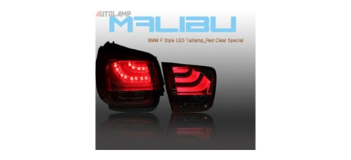 AUTO LAMP BMW F STYLE LED TAILLIGHTS SET FOR CHEVROLET MALIBU 2012-13 MNR