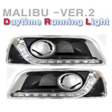 AUTO LAMP LED DAY RUNNING LIGHTS (DRL) SET FOR CHEVROLET MALIBU 2012-13 MNR