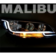 AUTO LAMP LED LINE TYPE HEADLIGHTS SET FOR CHEVROLET MALIBU 2012-13 MNR