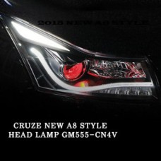 AUTO LAMP A8 STYLE CCFL PROJECTOR  HEADLIGHTS FOR CHEVROLET NEW CRUZE 2014-15 MNR