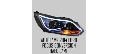 AUTO LAMP - LED PROJECTION HEADLIGHTS SET CONVERSION KIT FORFORD FOCUS 2012-14 MNR