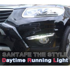 AUTO LAMP THE STYLE - LED DAYLIGHT (DRL) SET FOR HYUNDAI HYUNDAI SANTA FE CM 2010-12 MNR