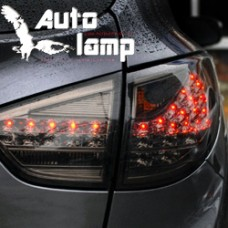 AUTO LAMP - PORSCHE CAYENNE STYLE LED TAILLIGHTS (BLACK EDITION) FOR HYUNDAI TUCSON IX35  2009-13 MNR