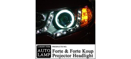 AUTO LAMP CCFL & LED PROJECTOR HEAD LIGHTS SET KIA FORTE / KOUP 2009-12 MNR
