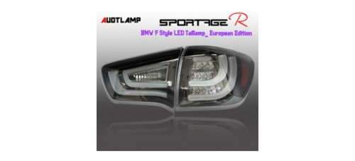 AUTO LAMP BMW STYLE EUROPEAN EDITION LED TAILLIGHTS SET KIA SPORTAGE R 2010-13 MNR