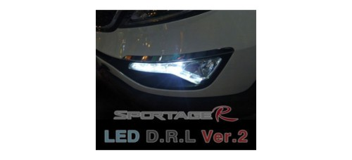 AUTO LAMP-LED DAYLIGHT (DRL) VER.2 SET FOR KIA SPORTAGE R 2009-12 MNR